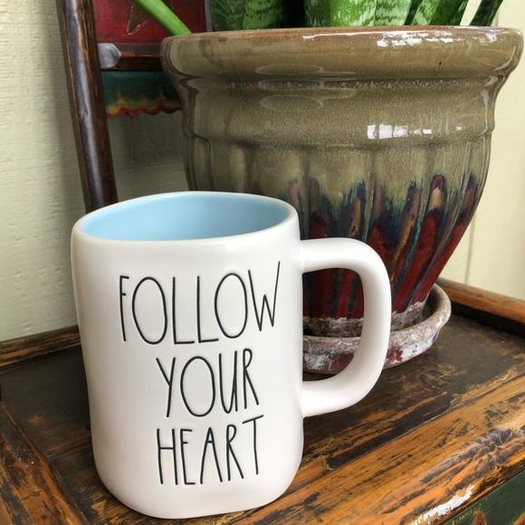Rae Dunn Follow Your Heart Mug